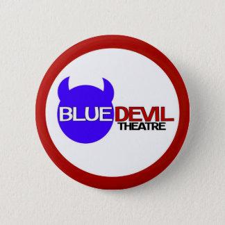 Bóton Redondo 5.08cm Crachá do alvo do teatro do diabo azul