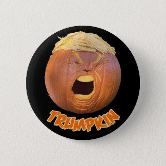 Bóton Redondo 5.08cm Crachá do botão de Trumpkin o Dia das Bruxas