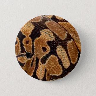 Bóton Redondo 5.08cm Crachá do botão do pitão da bola
