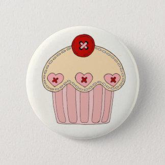 Bóton Redondo 5.08cm Crachá do cupcake