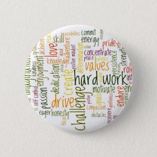 Bóton Redondo 5.08cm Crachá inspirador/botão das palavras #2