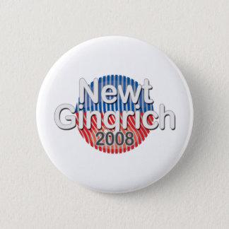 Bóton Redondo 5.08cm crachá-Newt Gingrich