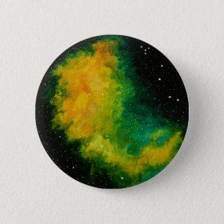 Bóton Redondo 5.08cm Crachá original da pintura da constelação da