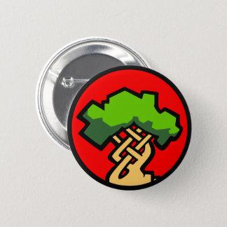 Bóton Redondo 5.08cm Crachá pequeno do logotipo do envoltório vermelho