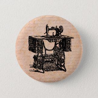 Bóton Redondo 5.08cm Crachá Sewing do vintage