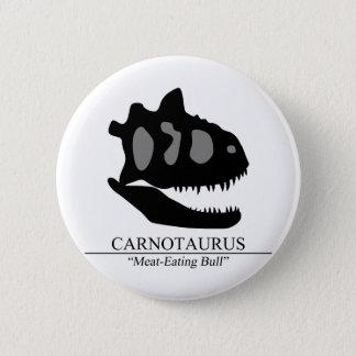 Bóton Redondo 5.08cm Crânio do Carnotaurus