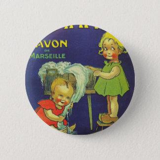 Bóton Redondo 5.08cm Crianças francesas L'amande da propaganda da