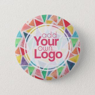 Bóton Redondo 5.08cm Criar seu próprio botão do Pin do evento e da
