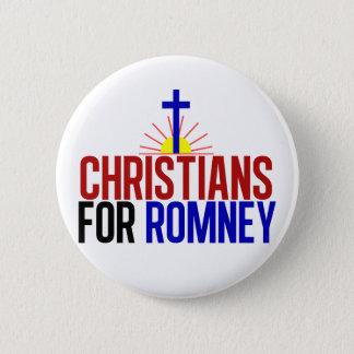 Bóton Redondo 5.08cm Cristãos para Romney