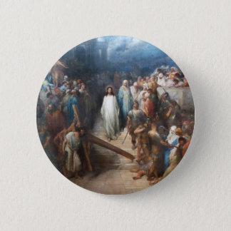 Bóton Redondo 5.08cm Cristo que deixa Praetorium