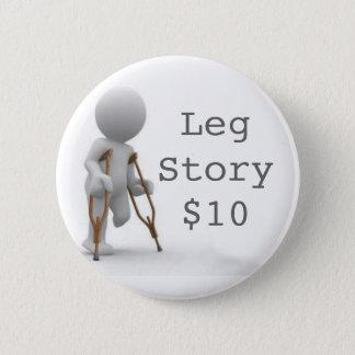 Bóton Redondo 5.08cm CRUTCHESLARGE, LegStory$10