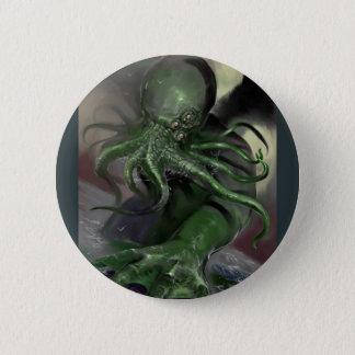 Bóton Redondo 5.08cm Cthulhu cavalo-força de aumentação Lovecraft
