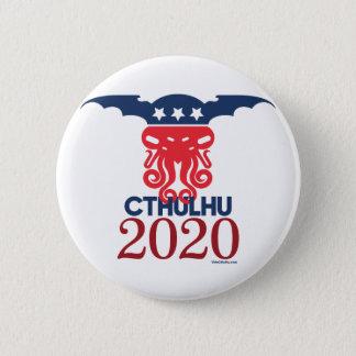 Bóton Redondo 5.08cm Cthulhu para o presidente 2020