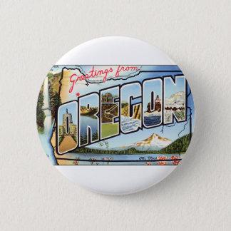 Bóton Redondo 5.08cm Cumprimentos de Oregon