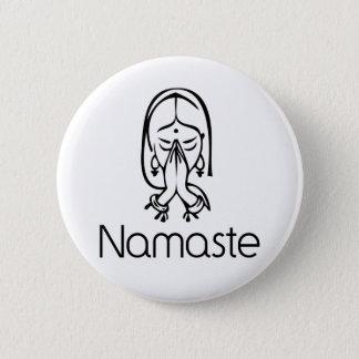 Bóton Redondo 5.08cm Cumprimentos - Namaste