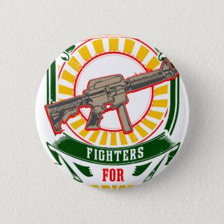 Bóton Redondo 5.08cm CURDISTÃO - YPG - guerreiro da liberdade de YPJ