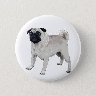Bóton Redondo 5.08cm Cutie do Pug