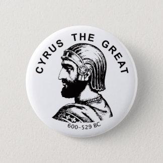 Bóton Redondo 5.08cm Cyrus o botão redondo do grande bozorg do kourosh