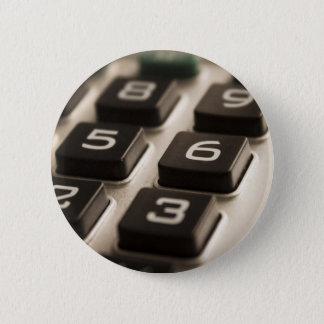 """Bóton Redondo 5.08cm Da """"Fim-Acima calculadora """""""