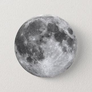 Bóton Redondo 5.08cm ~ da LUA da TERRA do PLANETA (sistema solar)