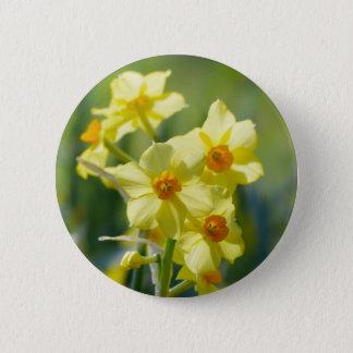 Bóton Redondo 5.08cm Daffodils bonito, narciso 03.2_rd