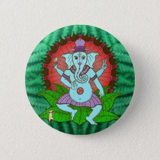 Bóton Redondo 5.08cm Dança de Ganesh da paz