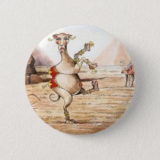 Bóton Redondo 5.08cm Dança do camelo