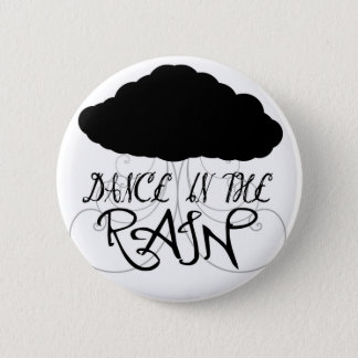 Bóton Redondo 5.08cm Dança no botão da chuva