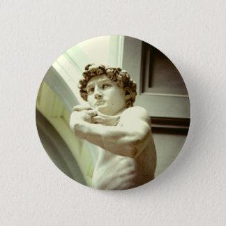 Bóton Redondo 5.08cm David - a imagem eterno de Florença