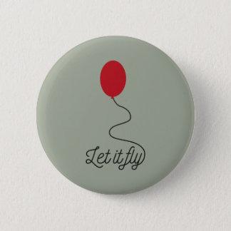 Bóton Redondo 5.08cm Deixais lhe para voar o balão Ziw7l