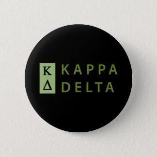 Bóton Redondo 5.08cm Delta do Kappa empilhado