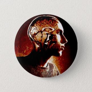 Bóton Redondo 5.08cm Dentro de minha cabeça, mostrando a atividade de