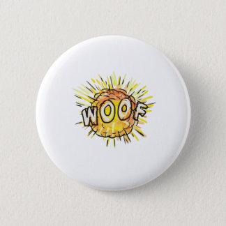 Bóton Redondo 5.08cm Desenhos animados do Woof da explosão