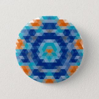 Bóton Redondo 5.08cm Design abstrato do mosaico