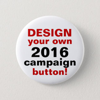 Bóton Redondo 5.08cm Design de DIY seu próprio Pin do botão da campanha