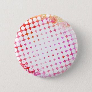 Bóton Redondo 5.08cm Design de explosão cor-de-rosa da banda desenhada