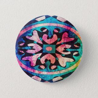 Bóton Redondo 5.08cm Design no fundo colorido