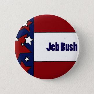 Bóton Redondo 5.08cm Design político de Jeb Bush