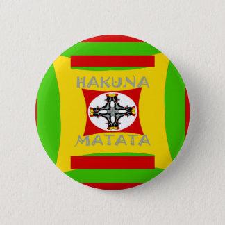 Bóton Redondo 5.08cm Design surpreendente bonito de Hakuna Matata