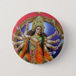 Bóton Redondo 5.08cm Deusa Durga
