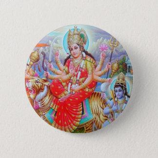 Bóton Redondo 5.08cm Deusa Durga Ji