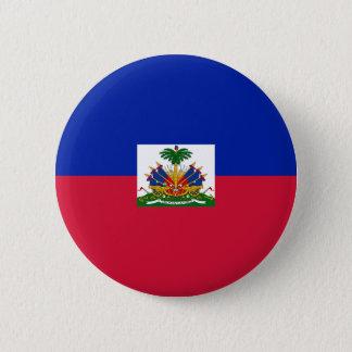 Bóton Redondo 5.08cm d'Haïti de Drapeau - bandeira de Haiti