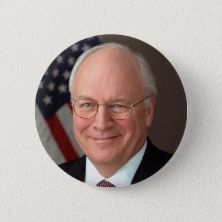 Bóton Redondo 5.08cm Dick Cheney