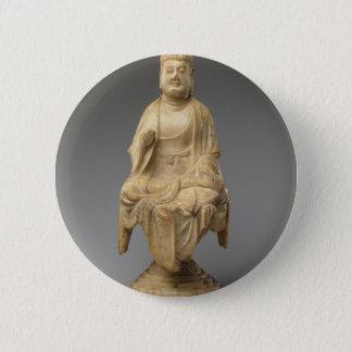 Bóton Redondo 5.08cm Dinastia de Buddha - de Tang (618-907)
