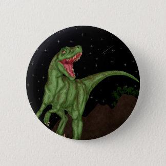 Bóton Redondo 5.08cm Dinossauro - noite pré-histórica