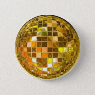 Bóton Redondo 5.08cm Disco do partido da luz da dança do salto da bola