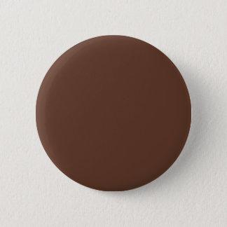 Bóton Redondo 5.08cm Divina cor de Brown dos confeitos
