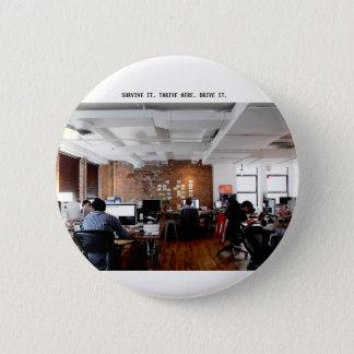 """Bóton Redondo 5.08cm Do """"botão de Lyfe trabalho"""""""