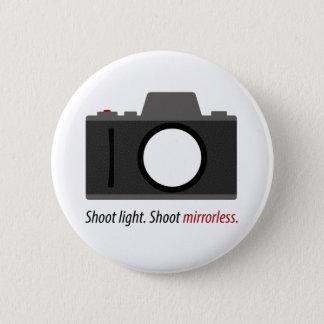 """Bóton Redondo 5.08cm Do """"botão de Mirrorless tiro"""" para o fotógrafo"""