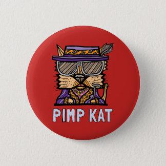 "Bóton Redondo 5.08cm Do ""botão redondo do Kat proxeneta"""